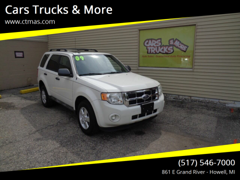 2009 Ford Escape for sale at Cars Trucks & More in Howell MI