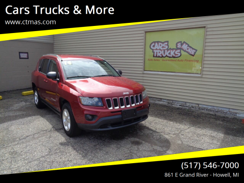 2014 Jeep Compass for sale at Cars Trucks & More in Howell MI