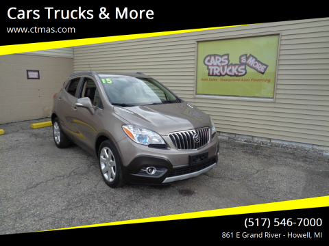 2015 Buick Encore for sale at Cars Trucks & More in Howell MI