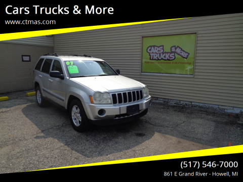 2007 Jeep Grand Cherokee for sale at Cars Trucks & More in Howell MI