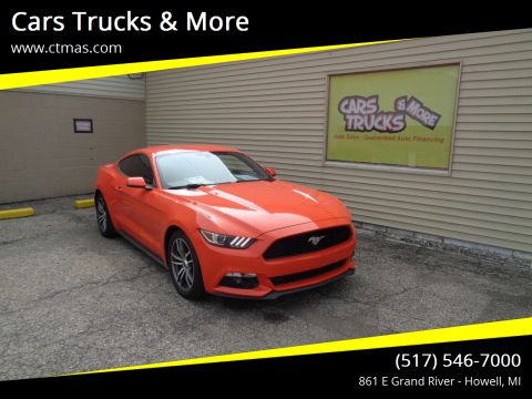 2016 Ford Mustang for sale at Cars Trucks & More in Howell MI