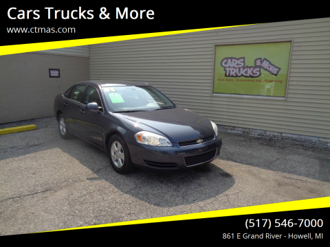 2008 Chevrolet Impala for sale at Cars Trucks & More in Howell MI