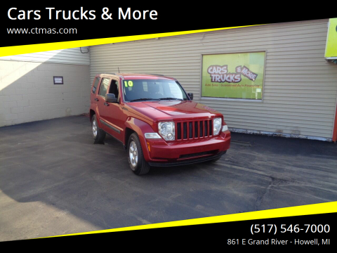 2010 Jeep Liberty for sale at Cars Trucks & More in Howell MI