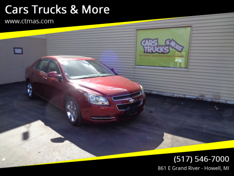 2011 Chevrolet Malibu for sale at Cars Trucks & More in Howell MI