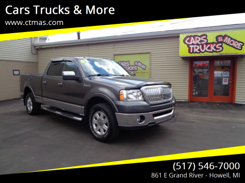 2007 Lincoln Mark LT for sale at Cars Trucks & More in Howell MI