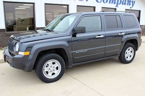 2016 Jeep Patriot for sale at Cresco Motor Company in Cresco IA