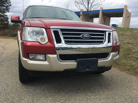 2008 Ford Explorer for sale at Bill Henderson Auto Group Inc in Statesville NC