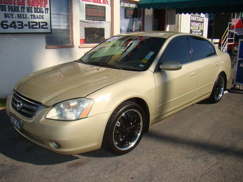 Lovely 2002 Nissan Altima 2.5 S 4dr Sedan   Ventura CA