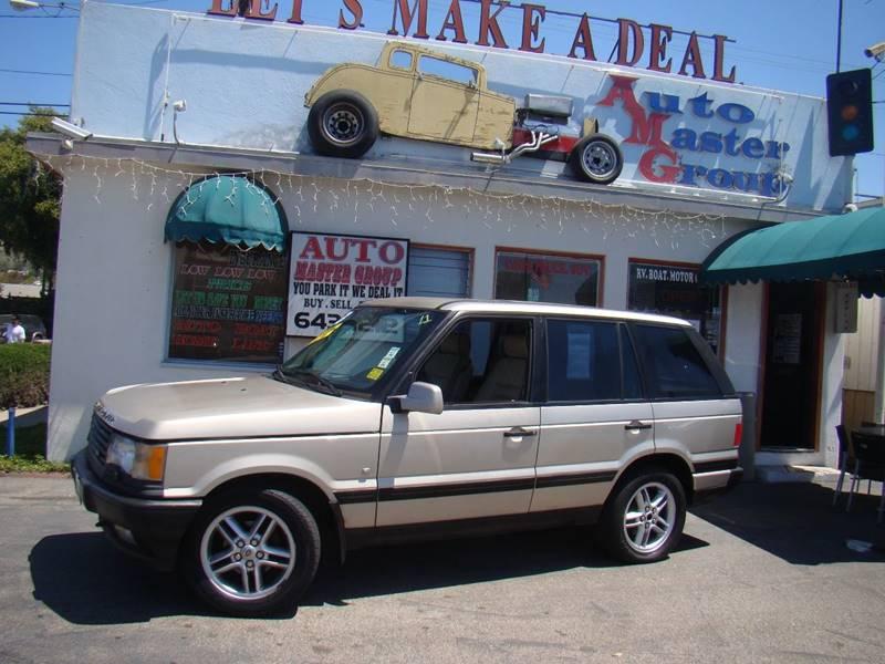 2001 Land Rover Range Rover AWD 4.6 HSE 4dr SUV In Ventura CA - Auto ...