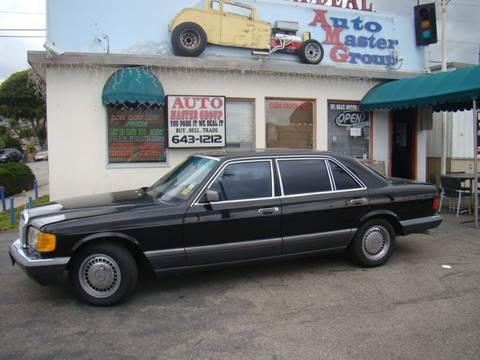 1989 Mercedes-Benz 420-Class for sale in Ventura, CA