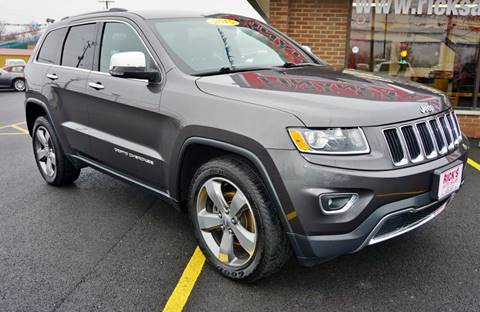 2015 Jeep Grand Cherokee for sale at Ricks Auto Sales, Inc. in Kenton OH