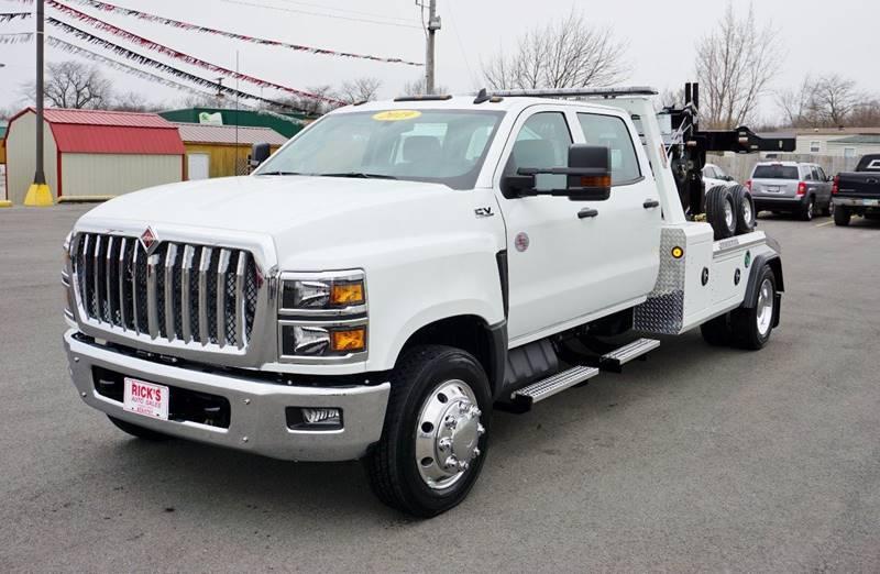 2019 International Cv Crew Twin Line Wrecker In Kenton OH