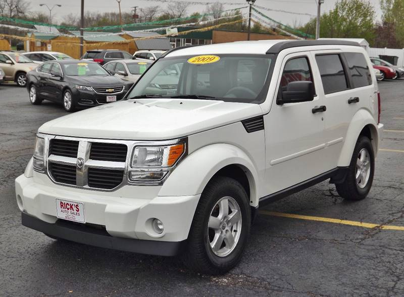 2009 dodge nitro 4x4 se 4dr suv in kenton oh ricks auto sales inc. Black Bedroom Furniture Sets. Home Design Ideas