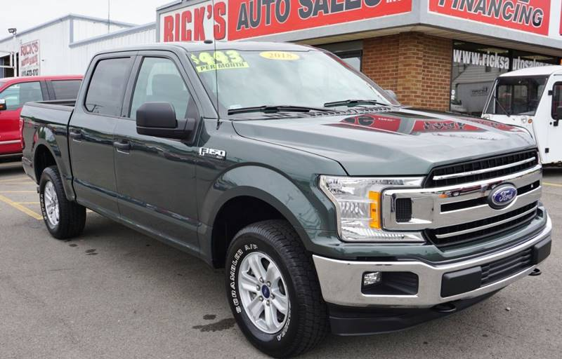 2018 Ford F-150 4x4 XLT 4dr SuperCrew 5 5 ft  SB In Kenton OH