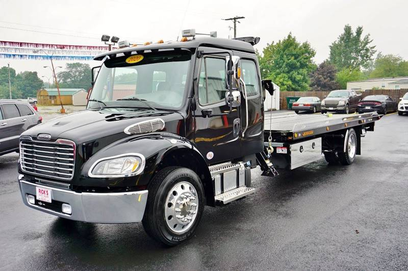 2020 Freightliner M2 Ext Cab Rollback Sidepuller In Kenton