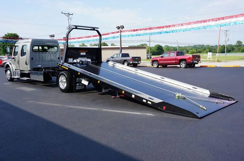 2020 Freightliner M2 Crew Cab Rollback Wrecker Flatbed In