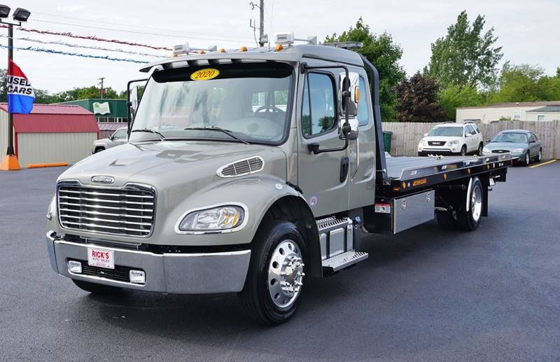 2020 Freightliner M2 Ext  Cab Rollback Wrecker Flatbed In