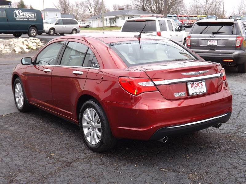 2014 Chrysler 200 Limited 4dr Sedan - Kenton OH
