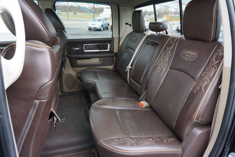 2012 RAM Ram Pickup 1500 4x4 Laramie Longhorn 4dr Crew Cab 5.5 ft. SB Pickup - Kenton OH
