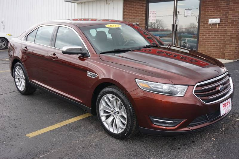 2015 ford taurus limited 4dr sedan in kenton oh ricks auto sales inc. Black Bedroom Furniture Sets. Home Design Ideas