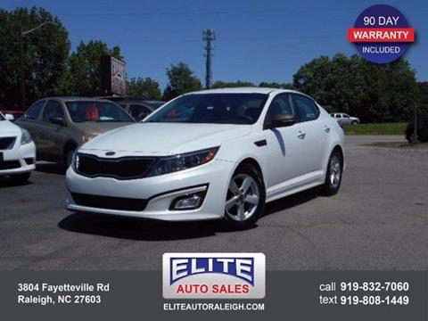 2014 Kia Optima for sale in Raleigh, NC