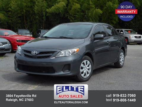 2013 Toyota Corolla for sale in Raleigh, NC