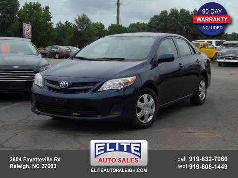 2011 Toyota Corolla for sale in Raleigh, NC
