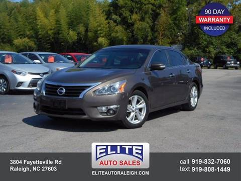 2013 Nissan Altima for sale in Raleigh, NC