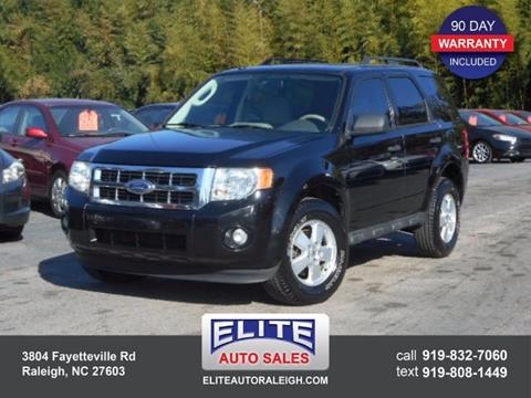 2010 Ford Escape for sale in Raleigh, NC