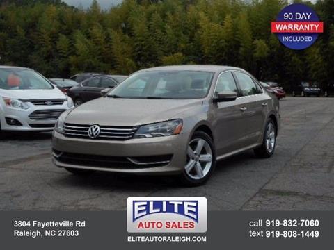 2015 Volkswagen Passat for sale in Raleigh, NC