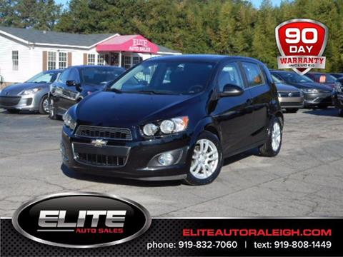 2012 Chevrolet Sonic for sale in Raleigh, NC