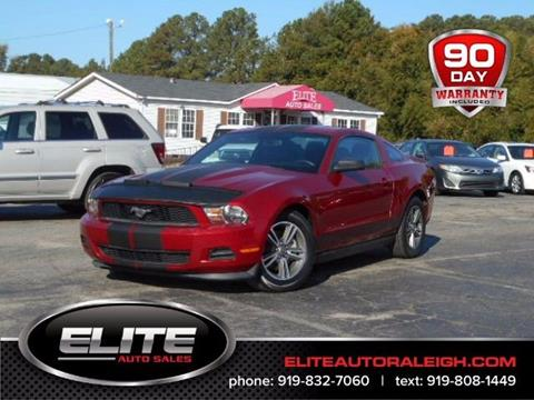 2012 Ford Mustang for sale in Raleigh, NC