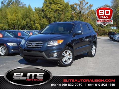 2012 Hyundai Santa Fe for sale in Raleigh, NC