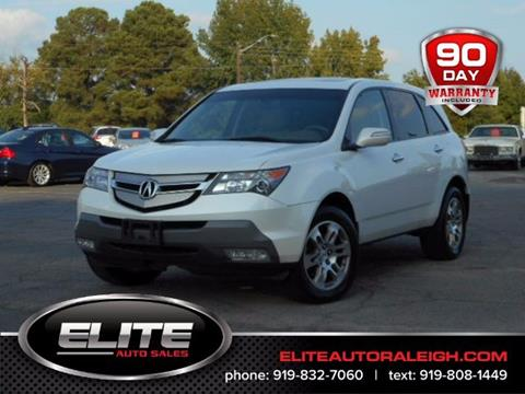 2009 Acura MDX for sale in Raleigh, NC