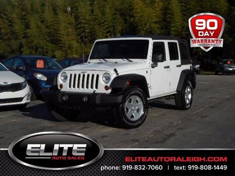 2011 Jeep Wrangler Unlimited for sale in Raleigh, NC