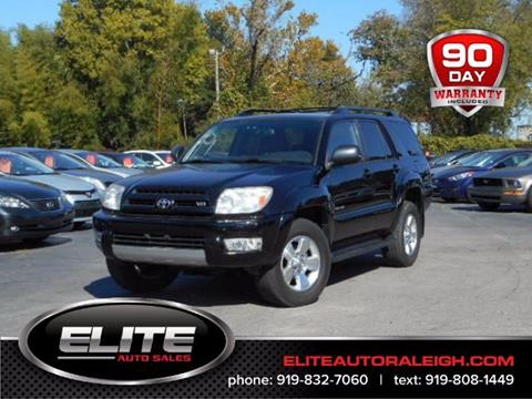 2004 Toyota 4Runner for sale in Raleigh, NC
