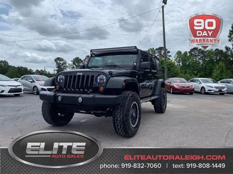 2010 Jeep Wrangler Unlimited for sale in Raleigh, NC
