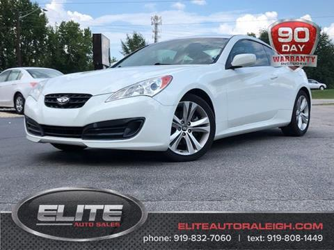2012 Hyundai Genesis Coupe for sale in Raleigh, NC