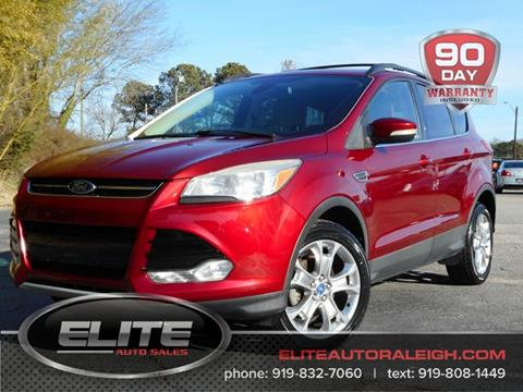 2013 Ford Escape for sale in Raleigh, NC