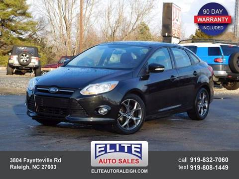 2013 Ford Focus for sale in Raleigh, NC