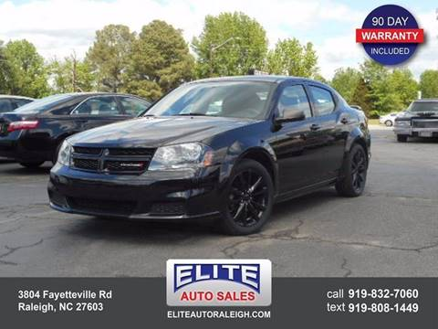 2014 Dodge Avenger for sale in Raleigh, NC