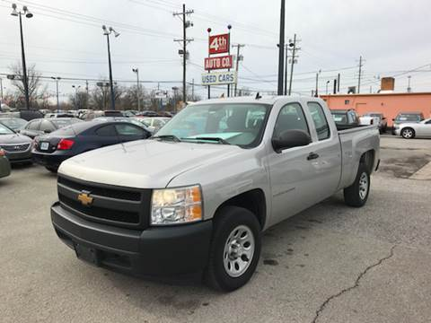 2007 Chevrolet Silverado 1500 for sale at 4th Street Auto in Louisville KY
