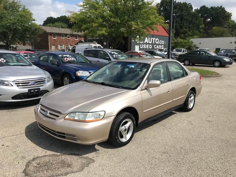 2002 Honda Accord LX 4dr Sedan   Louisville KY