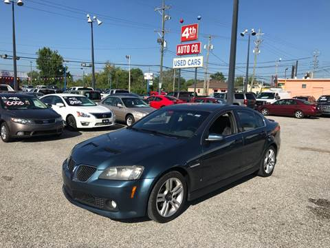 2009 Pontiac G8 for sale in Louisville, KY