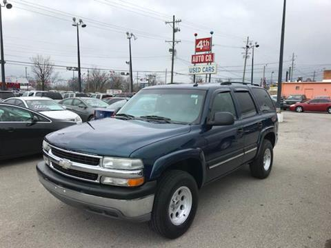 2005 Chevrolet Tahoe for sale at 4th Street Auto in Louisville KY