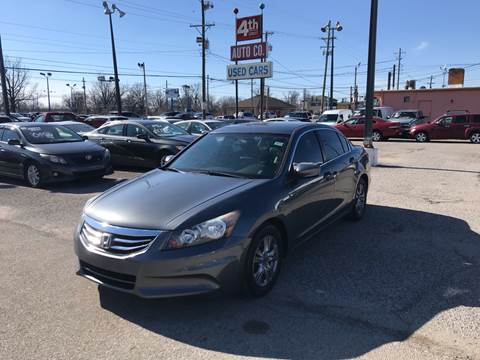 2012 Honda Accord for sale at 4th Street Auto in Louisville KY