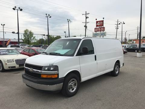 2003 Chevrolet Express Cargo for sale at 4th Street Auto in Louisville KY