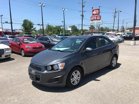 2013 Chevrolet Sonic for sale at 4th Street Auto in Louisville KY