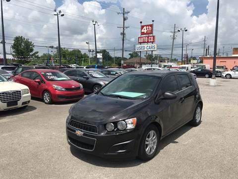 2014 Chevrolet Sonic for sale at 4th Street Auto in Louisville KY