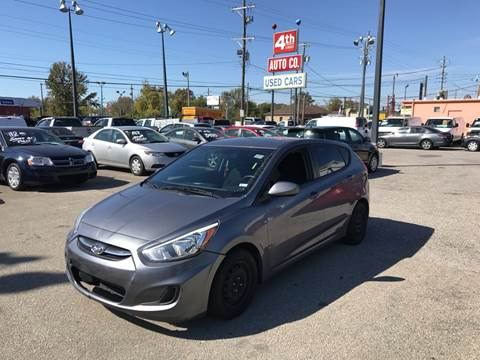 2015 Hyundai Accent for sale at 4th Street Auto in Louisville KY